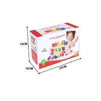 Wooden educational game installing numbers, image