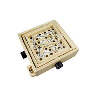 Wooden focus skills educational game, image