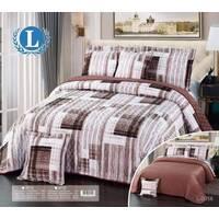 Velvet compressed quilt, size: 6Pcs, Color: Brown, image