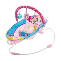 Rocking Baby Chair, Pink Red, image