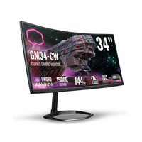 """Cooler Master GM34-CW 1500R Curve 34"""" Full HD PC Monitor, image"""