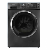 Automatic Supreme General Washer 10 kg - Steel - Side Door 100% Dry, image