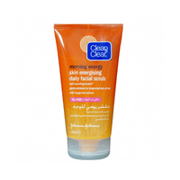 CLEAN & CLEAR Daily Facial Scrub with Vitamin C and Ginseng 150 ml, image