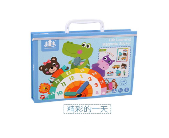 A game for children to teach time, medium size, image