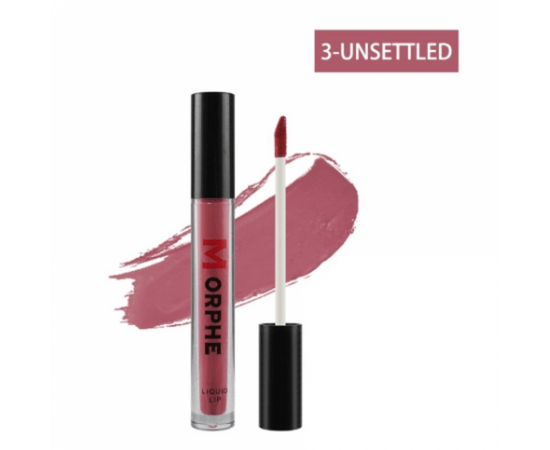 Morphe Matte Liquid Lipstick 3-Unsettled, image , 2 image