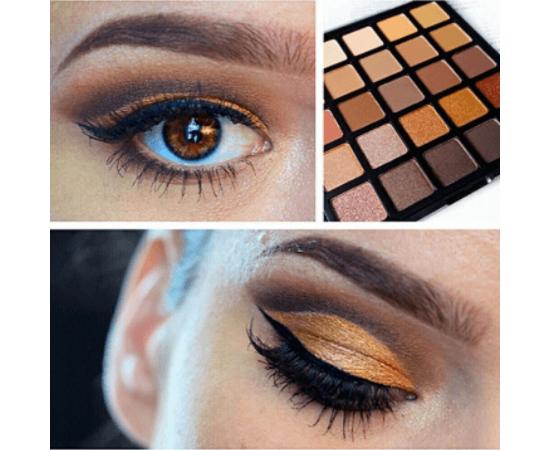 Morphe Eye Shadow Makeup Palette 25A - Copper Spice, image , 2 image