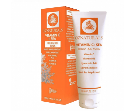 Oznaturals Vitamin C + C Moisturizing Mask 118 ml, image , 2 image