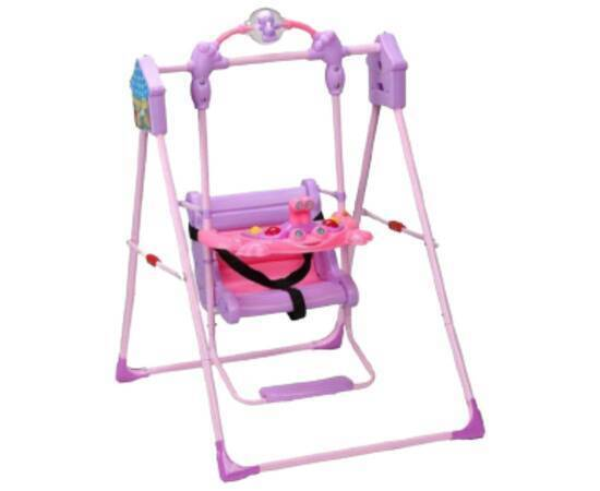 Swing with a Ball for Kids, Purple, image