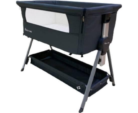 Portable Children's Bed, Black, image