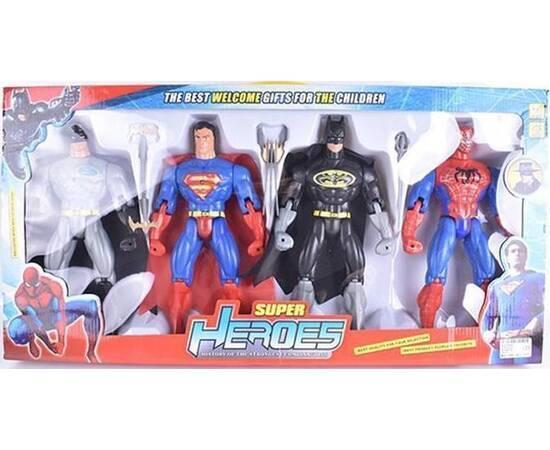 Super Heroes Figures Set Medium Size, image