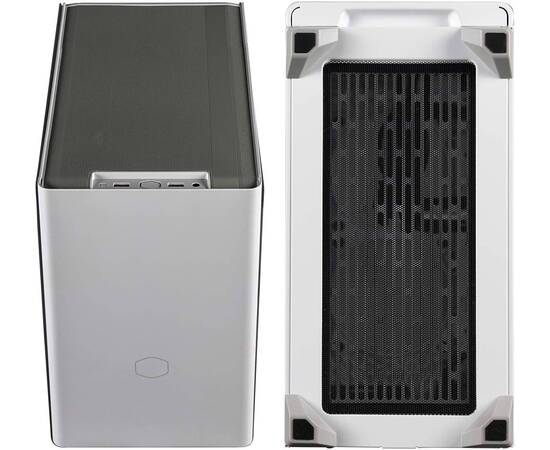 Cooler Master MasterBox NR200P PC Case, Product Dimensions: 376 x 185 x 292mm, Model: MCB-NR200P-WGNN-S00, Size: Mini ITX, Motherboard Support: Mini DTX, Mini ITX, Max MB size: 244 x 226mm, Power Supply Support: SFX, SFX-L, Color: White, image , 7 image