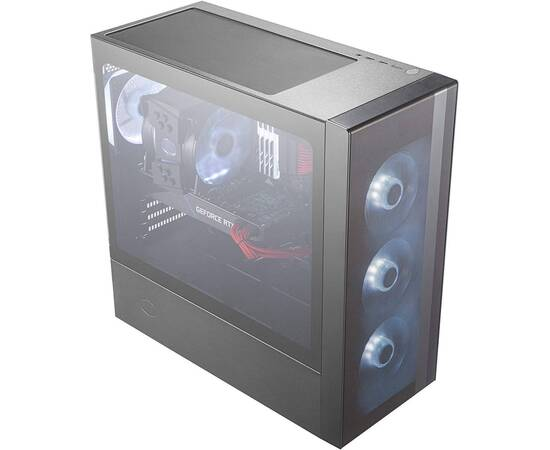 Cooler Master MasterBox NR600 PC Case Without ODD, image , 8 image