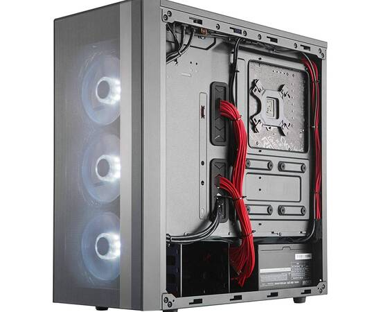 Cooler Master MasterBox NR600 PC Case Without ODD, image , 7 image