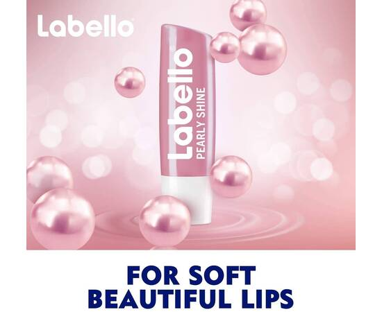 Labello Pearly Shine Lip Care Stick Pearly Shine 4.8g, image , 2 image