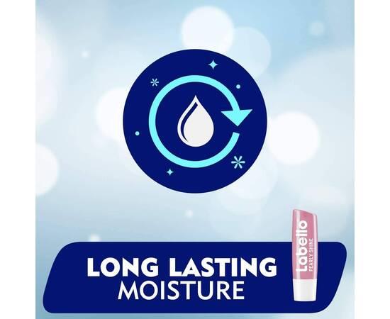 Labello Pearly Shine Lip Care Stick Pearly Shine 4.8g, image , 4 image