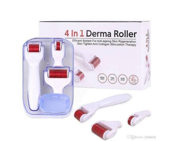 Derma Roller 4 in 1 Skin Care Set, image , 3 image